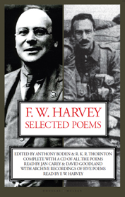 The cover of F W Harvey Selected Poems