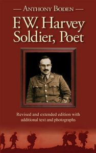 The book cover of F W Harvey Soldier, Poet