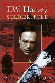 The book cover of F. W. Harvey Soldier Poet