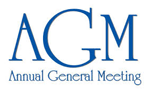 A graphic saying Annual General Meeting