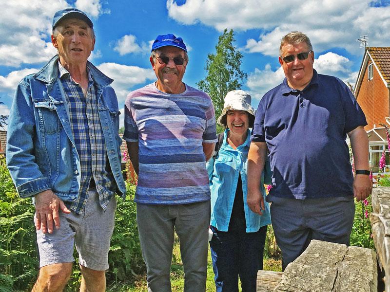 A photo on the Yorkley village walk June 2019