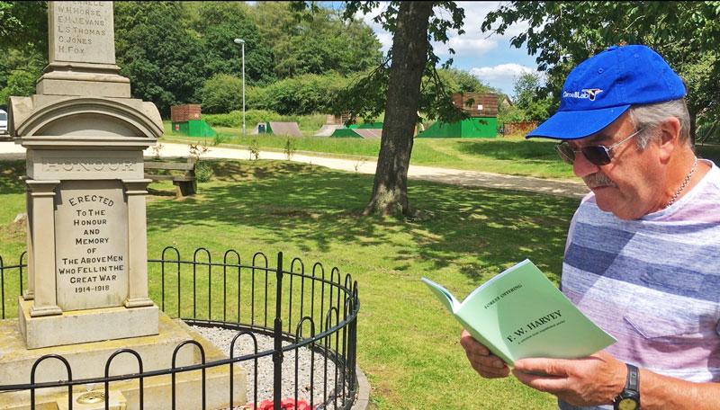 F W Harvey Yorkley village walk June 2019